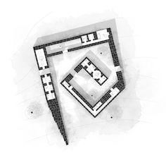filipe paixao designs a stone wall house for fernando pessoa