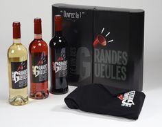 Coffret Vin des Grandes Gueules. Pour tous ceux qui aiment l'ouvrir... ;)