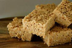 Lottie's Little Kitchen.: Browned Butter Peanut Butter Rice Krispie Treats & Cosmo!