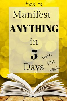 How to manifest anything 5 days with this law of attraction trick plus a free law of attraction course on how to overcome the 5 most common barriers to using the law of attraction to manifest your life goals. Manifestation Law Of Attraction, Law Of Attraction Affirmations, Manifestation Journal, Law Of Attraction Money, Law Of Attraction Quotes, Abraham Hicks, Manifesting Money, How To Manifest, Spiritual Awakening