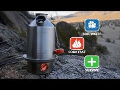 Kelly Kettle ® is an ultra-fast camping, preparedness kettle which has been used worldwide for generations. BOIL WATER - COOK FAST - SURVIVE Kelly Kettle ® c. Camping With Kids, Family Camping, Camping Gear, Camping Hacks, Outdoor Camping, Camping Water, Camping Trailers, Backpacking, Camping Survival