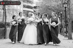 These girls just wanna have fun at Meghan's wedding! #lightscameradjs #girlsjustwanttohavefun