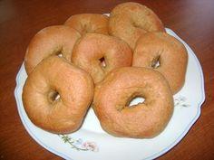 Mmmm...homemade honey whole wheat bagels :o)