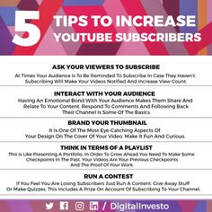 Here are few tips that will help you to increase your you  tube subscribers organically.  If you are looking to make a you tube channel but having fear of how to increase Subscribers.  Then Don't Worry! Here are a list of tips and tricks that will help you make your channel successfully updated.  For more interesting Facebook post updates follow our Social Media Channels and subscribe to our Website. Increase Youtube Subscribers, Social Media Channels, You Videos, Don't Worry, Social Media Marketing, No Worries, Student, Make It Yourself, Facebook