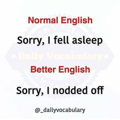 Slang English, English Idioms, English Phrases, English Lessons, English Tips, Interesting English Words, Learn English Words, English Learning Spoken, English Language Learning