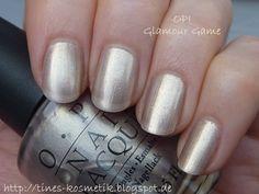 OPI Glamour Game Bridal Nails, Nail Polishes, Alter, 9 And 10, Opi, Glamour, Game, Beauty, Bride Nails