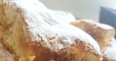 Μηλόπιτα αφράτη και λαχταριστή !!! Υλικά 2 αυγά 10 κουταλιές της σούπας γάλα 10 κουταλιές της σούπας σπορέλαιο 10 κουταλιές της ... Sweets, Bread, Cake, Food, Gummi Candy, Candy, Brot, Kuchen, Essen