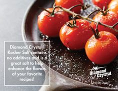 Bring out the flavor of all your favorite dishes with Diamond Crystal® Kosher Salt. #DiamondCrystalSalt