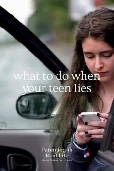 Nearly every teenager on the planet admits to lying about something—and the ones who don't admit it are probably lying about that! Step Parenting, Parenting Teenagers, Parenting Hacks, Kids Lying, Every Teenagers, Parent Coaching, Teenage Daughters, Happy Photography, Teen Life