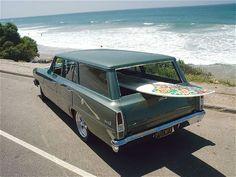 1967 Chevy II Nova Wagon #ClicheSurfboard