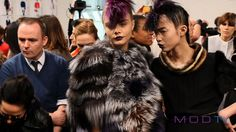 Cara Delevingne Backstage: Fendi Fall 2013 | Photos - MODTV