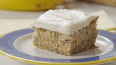 MarySmith — How To Make Banana Cake With Vanilla Bean Frosting...