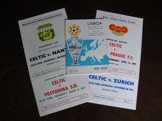 Glasgow Celtic FC 1967 Europeon Cup Final football programme & 4 programmes  | eBay