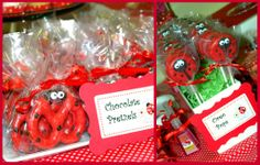 lady bug chocolate dipped pretzels - AT Yahoo! Search Results