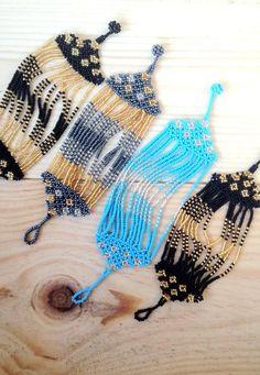 Malindi Ocean Sky - Seed Beaded Bracelet | Urban Gypsy Designs
