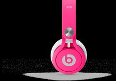 Beats Mixr, Neon Pink, large - David Guetta challenged Beats by Dr. Dre to create the perfect set of world-class ear cups. One year and thousands of prototypes later, we're proud to present one of the lightest, loudest, and most durable headphones ever
