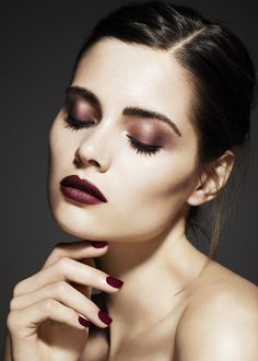 evening dramatic make-up