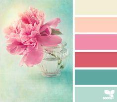 Vintage Hues palette from Design Seeds Colour Pallette, Colour Schemes, Color Combos, Color Patterns, Design Seeds, Colour Board, World Of Color, Color Swatches, Color Theory