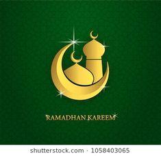 greeting card of holy ramadhan kareem and ied mubarak days with arabic mosque shape Ied Mubarak, Mosque, Royalty Free Photos, Holi, Greeting Cards, Shape, Illustration, Allah, Camel