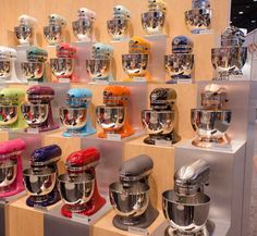 New Stand Mixer Colors from KitchenAid: Canopy Green, Cranberry, & Watermelon — International Home + Housewares Show 2013