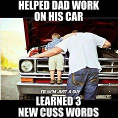 The Good Old Day's With Dad