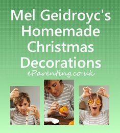 Mel Geidroyc's Homemade Christmas Decorations Homemade Christmas Decorations, Crafts, Manualidades, Handmade Crafts, Craft, Arts And Crafts, Artesanato, Handicraft