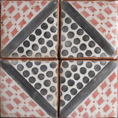 Le Marais 1 is a unique terracotta tile from our collection of hand-painted tiles inspired by the Paris Metro.