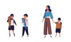 ルポ190320:入学後のママ、衝撃…!保育園と小学校の違いが凄過ぎた Back To Work, Pants, Trouser Pants, Women's Pants, Women's Bottoms, Trousers