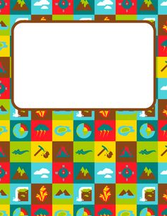 Free printable Earth science binder cover template. Download the cover in JPG or PDF format at http://bindercovers.net/download/earth-science-binder-cover/