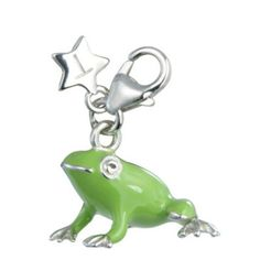 Sterling Silver Charm TINGLE FROG