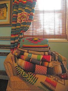 Pow Wow blankets