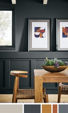 Introducing the Sherwin Williams' color palette quiz, a survey tailor-made to help you find personalized paint combinations. Best Paint Colors, Interior Paint Colors, Paint Colors For Home, Interior Design, Room Colors, Wall Colors, House Colors, Sherwin Williams Color Palette, Paint Combinations