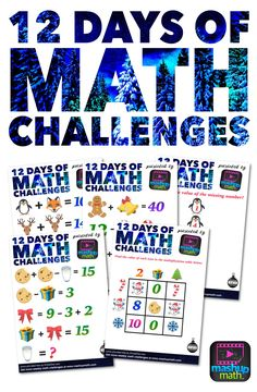 Teaching math during the holiday season is challenging. Your kids' focus is, to say the least, diverted as their enthusiasm and excitement grows with each passing day. Savvy teachers can take advantage of students' enthusiasm by incorporating holiday-themed activities into their lesson plans. I know