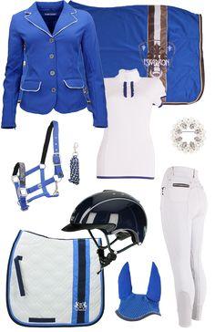 Wedstrijdset Royal Blue