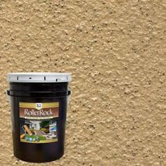 RollerRock is a tough, decorative, textured concrete coating made from real stone. It's a unique pre-mixed self-priming formula that rolls on easily to add a new surface to exterior concrete porches and Concrete Porch, Concrete Bricks, Concrete Floors, Painting Concrete Patios, Concrete Cover, Stencil Concrete, Concrete Wall, Concrete Floor Coatings, Concrete Resurfacing