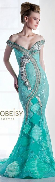 turquoise.quenalbertini: Saiid Kobei-sy Couture