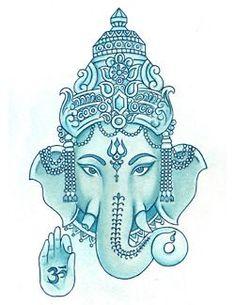 tattoo – OM auf Ganesh, Remover von Hindernissen. Ich muss dies auf Leinwand für mein Schlafzimmer. vol 11987 | Fashion & Bilder