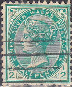 New South Wales 1905 Queen Victoria SG 333b Fine Used SG 333b Scott 110 Other British Commonwealth Empire and Colonial stamps Here