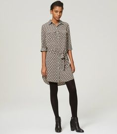 Ann Taylor LOFT short dress Classic Grey on Tradesy