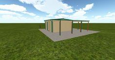 Cool 3D #marketing http://ift.tt/2iS8poa #barn #workshop #greenhouse #garage #roofing #DIY