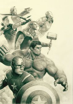 Avengers Movie Sketch