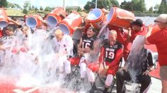 How the ice bucket challenge led to an ALS research breakthrough. Not only has research funded by the stunt uncovered a gene variant associated with ALS, it has also demonstrated the huge value of scientific collaboration