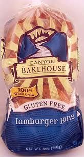 Canyon Bakehouse Gluten-Free Hamburger Buns - 4 pack - You don't have to be gluten averse to like these. I use them as I would any carb to soak up juices from what I've cooked. It's much quicker than preparing rice, potatoes, and so on. Gluten Free Bakery, Gluten Free Diet, Foods With Gluten, Gluten Free Recipes, Gourmet Recipes, Delicious Recipes, Dairy Free, Gluten Free Hamburger Buns, Bread Brands
