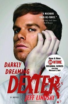 """""""Meet Dexter Morgan, a polite wolf in sheep's clothing. He's handsome and charming, but something in his past has made him abide by a different set of rules. He's a serial killer whose one golden rule makes him immensely likeable: he only kills bad people."""" - Goodreads.com"""