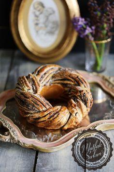Haşhaşlı Çelenk Çörek Tarifi   Mutfak Sırları