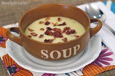 PANELATERAPIA - Blog de Culinária, Gastronomia e Receitas: Creme de Batata com Bacon