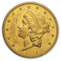 Extremely Rare! The 1861-O Gold Liberty Double Eagle is an issue of 17,741 coins struck in New Orleans at the dawn of the Civil War under three different authorities.