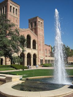 Royce Hall, UCLA campus, Los Angeles, CA.  Photo: Joe Hale, via Flickr