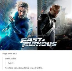 I don't know how I feel about this considering I love avengers but I also love fast and furious