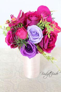 Davids Bridal Sangria Wedding Bouquet